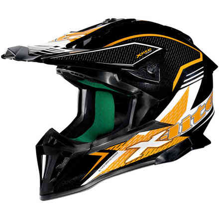 Casque X-502 Backflip orange X-lite