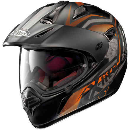 Casque X-551 Gt Kalahari noir orange X-lite