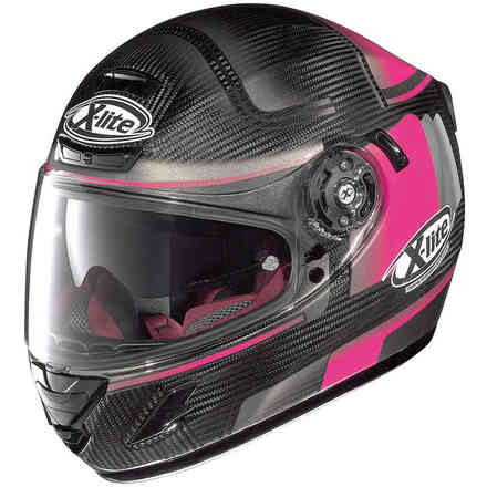 Casque X-702 Gt Ultra Carbon Ofenpass rosa X-lite