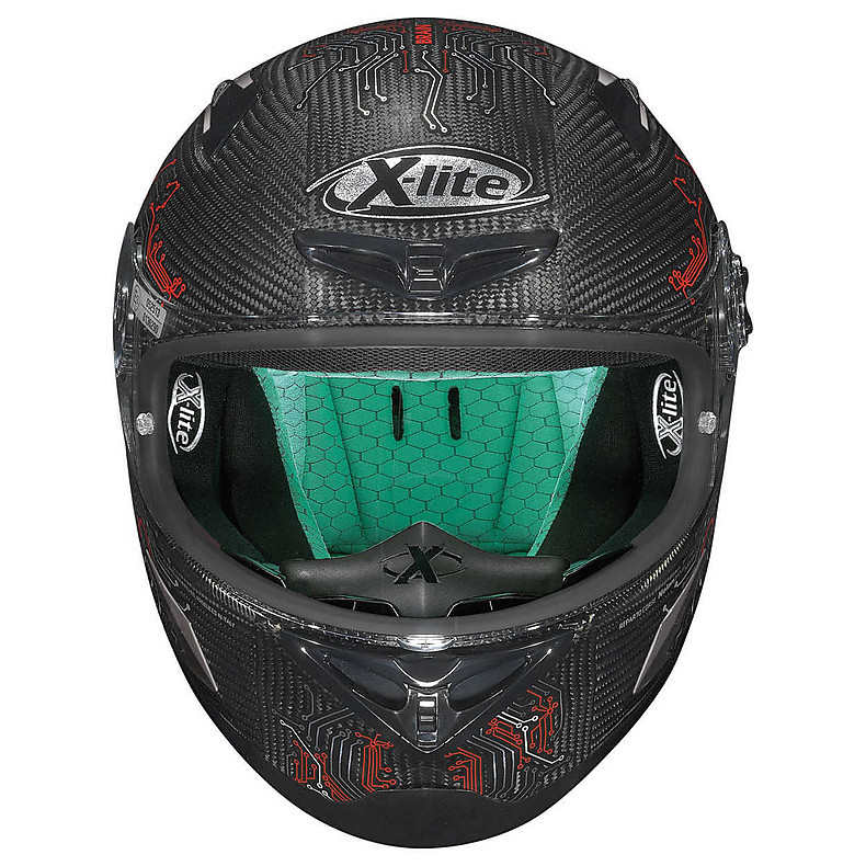 Casque X-802RR Ultra Carbon BTC X-lite