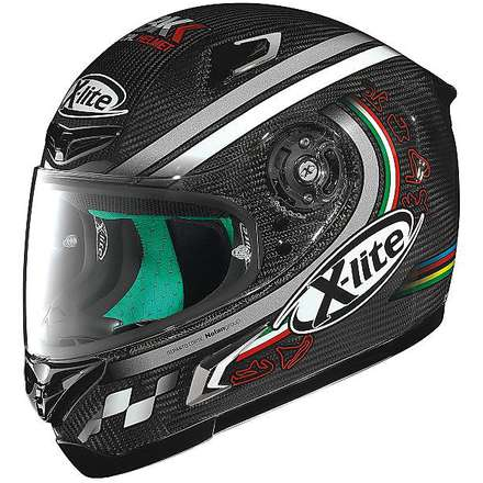 Casque X-802RR Ultra Carbon SBK X-lite