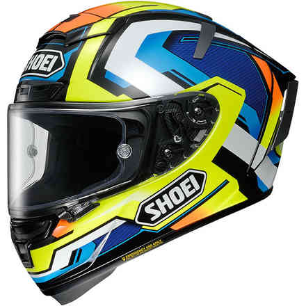 Casque X-Spirit 3 Brink Tc-10 Shoei