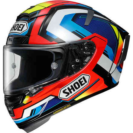 Casque X-Spirit 3 Brink Tc-1 Shoei