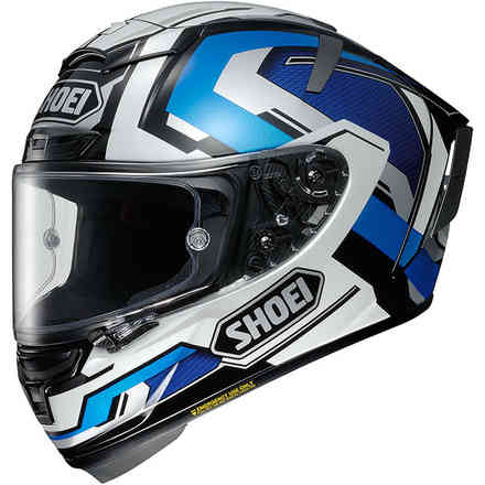 Casque X-Spirit 3 Brink Tc-2 Shoei