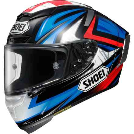 Casque  X-spirit III Bradley3 Tc-1 Shoei