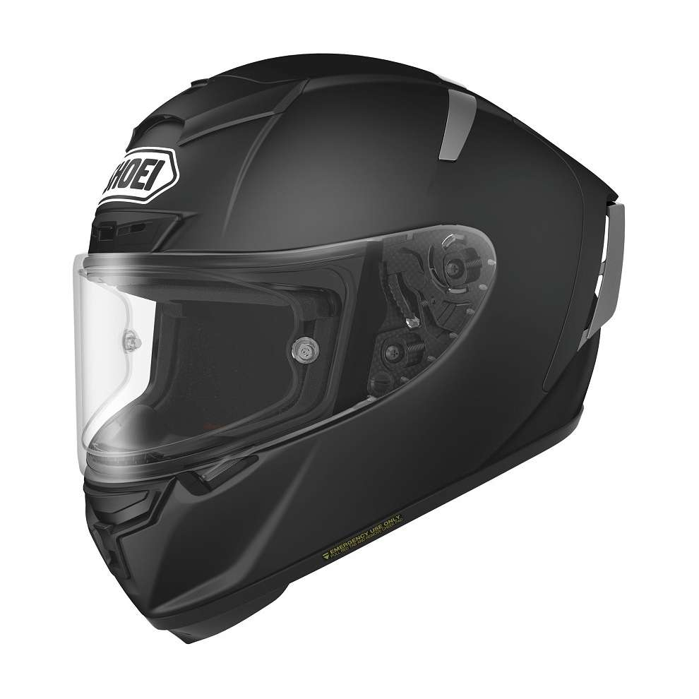 Casque  X-spirit III Candy Noir Mat Shoei