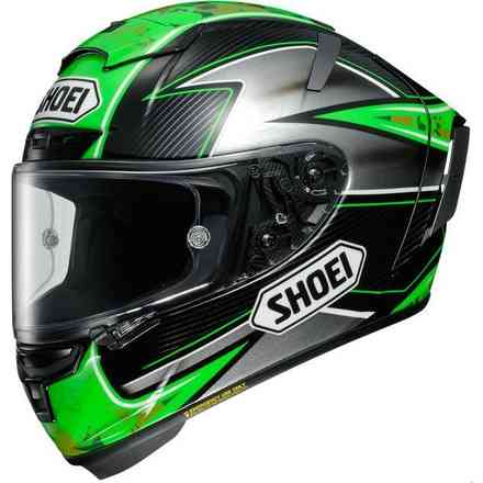 Casque X-Spirit III Laverty Tc-4 Shoei
