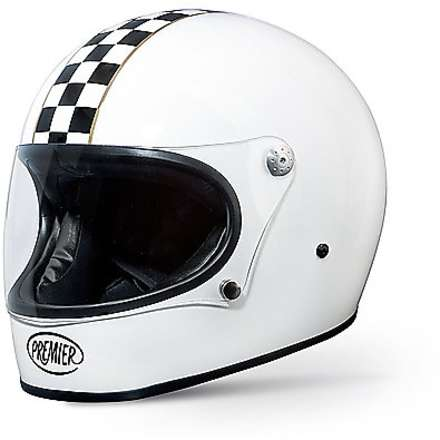 Casques Trophy Ck white Premier