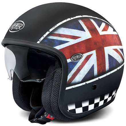 Casques Vintage Multi Flag UK BM Premier