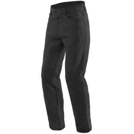 Casual Regular Tex Pants Black Dainese