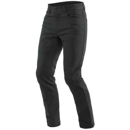 Casual Slim Tex Pants Black Dainese