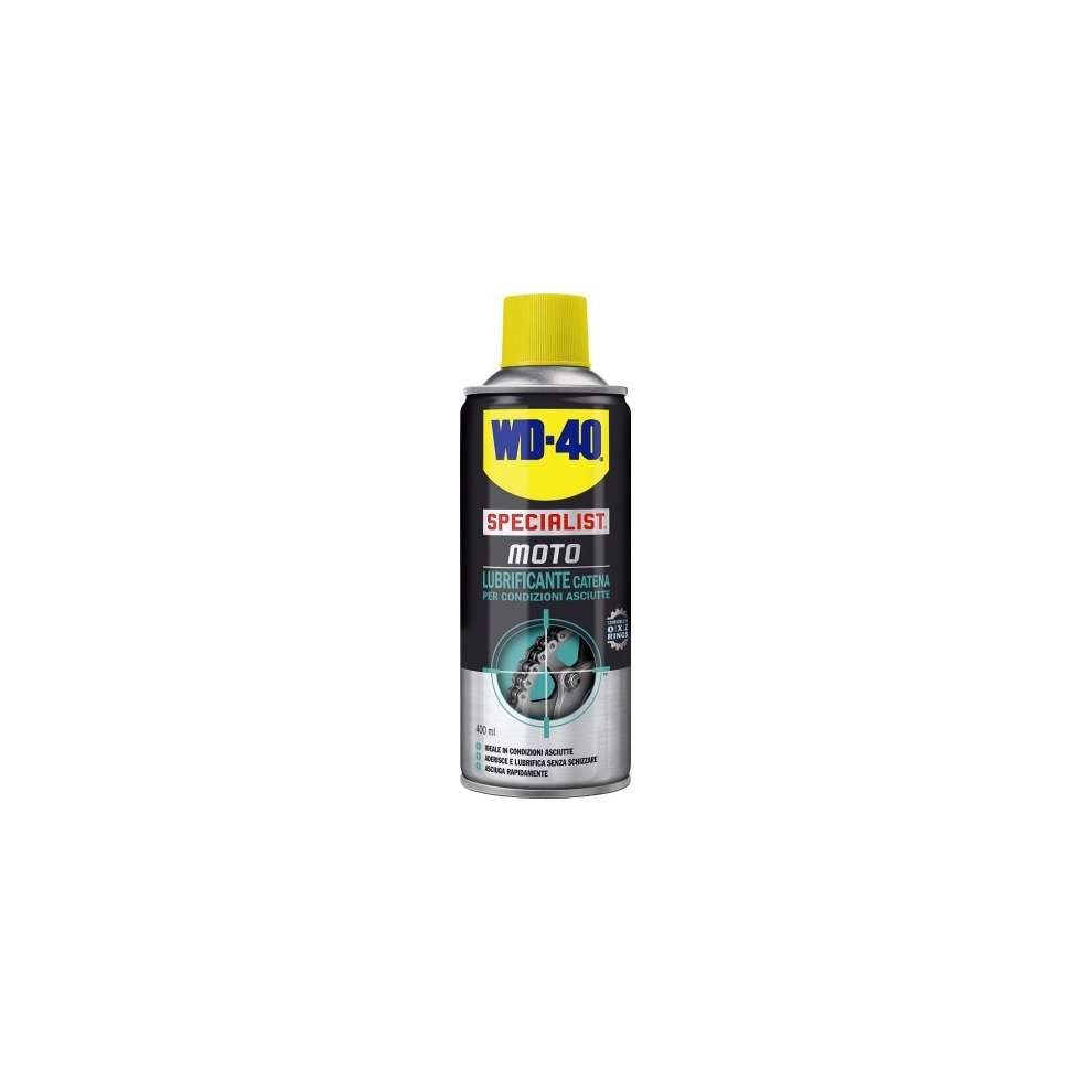 CHAIN LUBE 400ML ASCIUTTE WD-40
