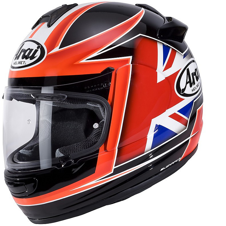 Chaser V Flag UK Helmet Arai