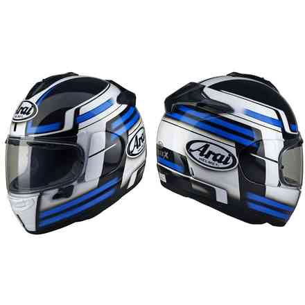 Chaser-X Competition Blue Helmet Arai
