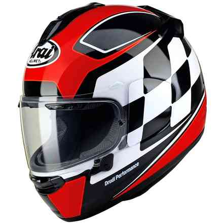 Chaser-X Finish Red Helmet Arai