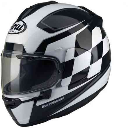 Chaser-X Finish White Helmet Arai