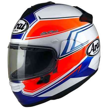 Chaser-X Shaped Blue Helmet Arai