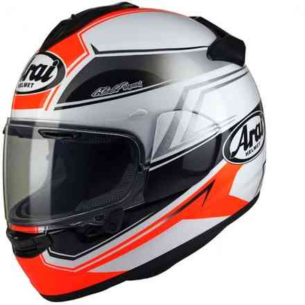 Chaser-X Shaped red Helmet Arai