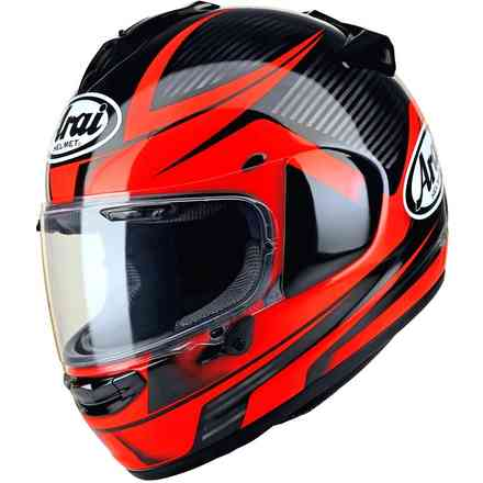 Chaser-X Tough Red Helmet Arai