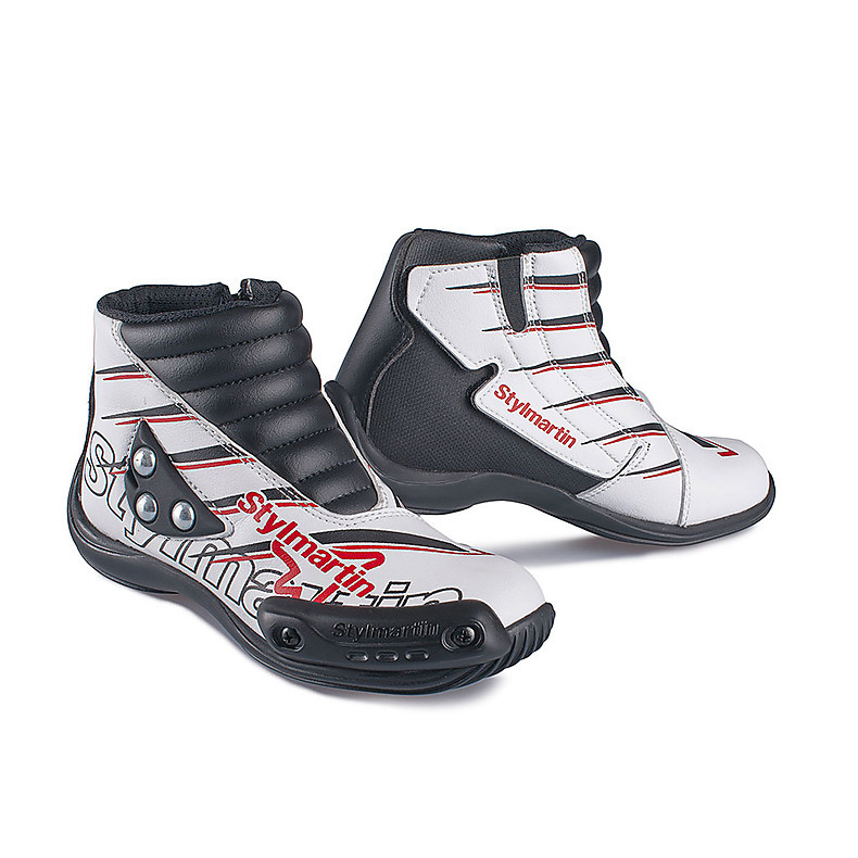 Chaussures Speed Jr S1 blanc Stylmartin