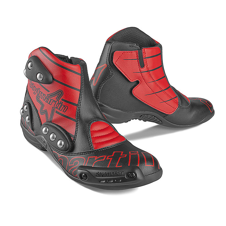 chaussures Speed S1 rouge Stylmartin