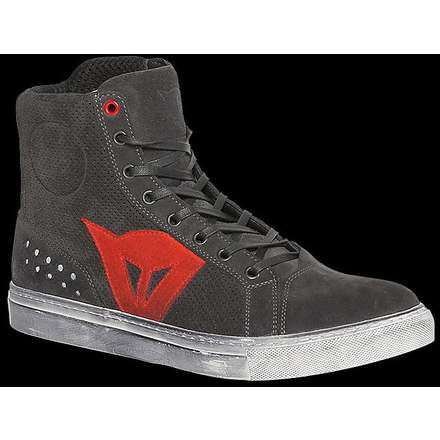 Chaussures Street biker Air  carbon-rouge Dainese