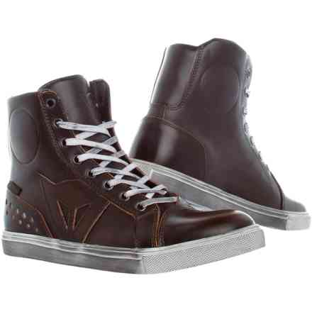 Chaussures Street Rocker D-Wp Lady marron Dainese