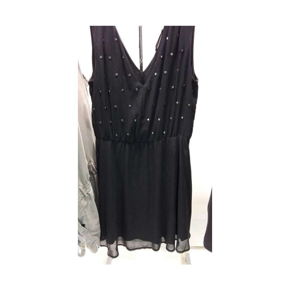 Chiffon dress with studs Gaudi