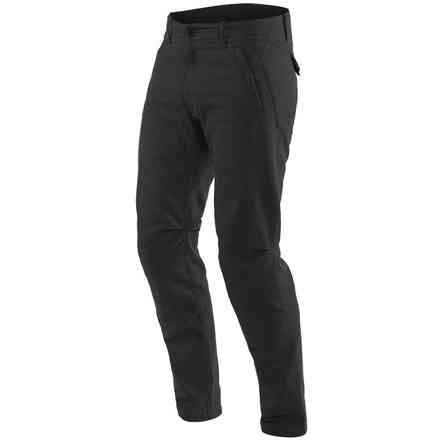 Chinos Tex Pants Black Dainese
