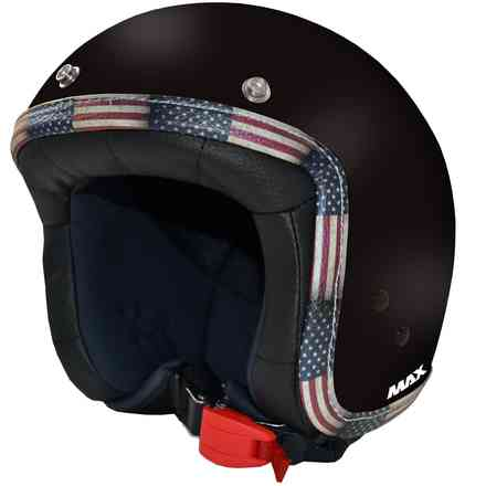 Chromed Jet Flag Helmet MAX - Helmets