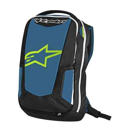 City Hunter Backpack blue black lime Alpinestars