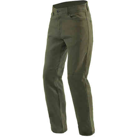 Classic Regular Tex Pants olive green Dainese