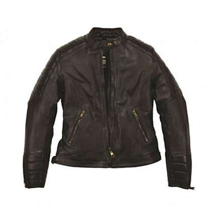 Claudia lady leather Jacket Helstons