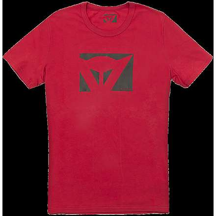 Color New T-shirt red Dainese