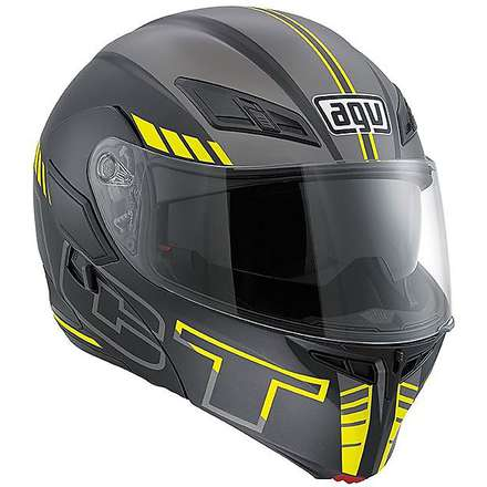 Compact Seattle matt black-silver Helmet Agv