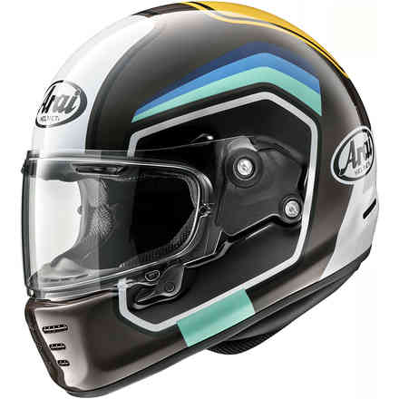 Concept-X helmet Number Brown Arai