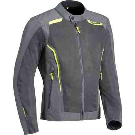Cool Air jacket grey yellow Ixon