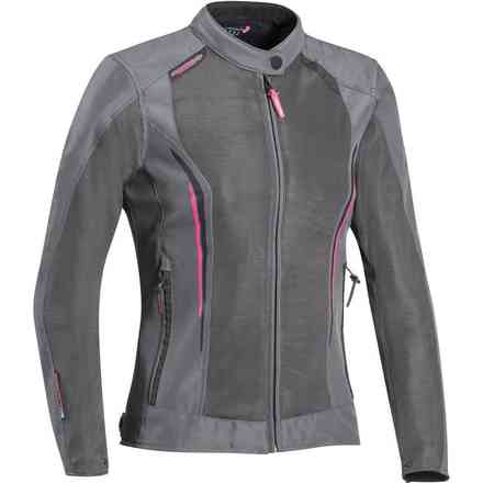Cool Air Lady jacket grey fuxia Ixon