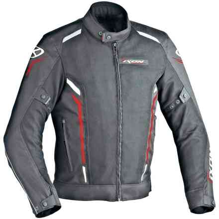 Cooler jacket black white red Ixon