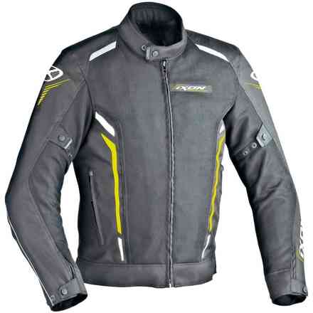 Cooler jacket black white yellow Ixon