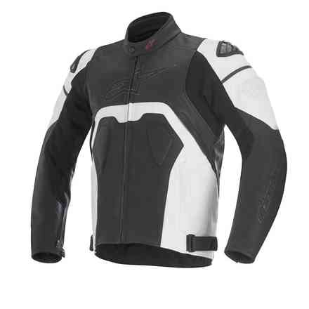 Core Leather Jacket black-white Alpinestars