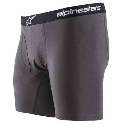 Cotton Brief Charcoal boxer Alpinestars