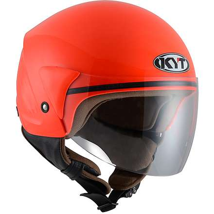 Cougar helmet red KYT