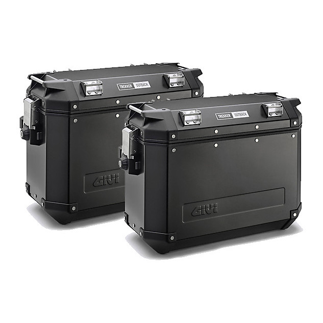 Couple case 37 Liter Aluminum  Givi