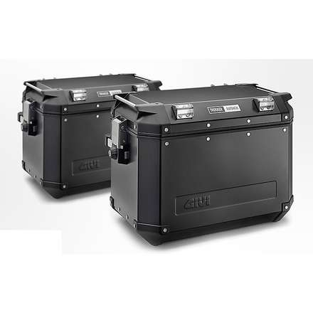 Couple case 48 Liter Aluminum  Givi