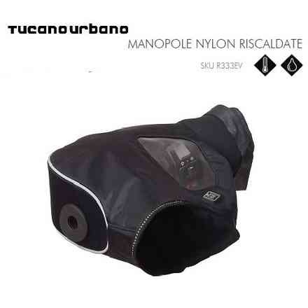 COVER GRIP NYLON HEATED BLACK Tucano urbano