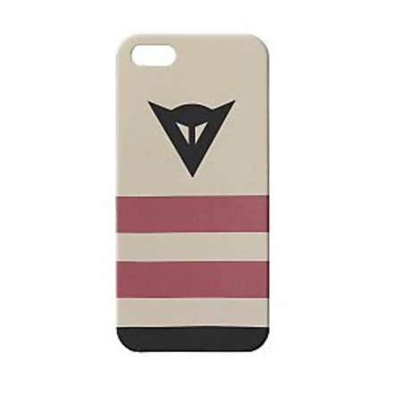 Cover I-PHONE 5-5S History cream - black Dainese