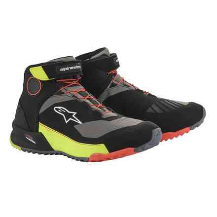 Cr-X Drystar Riding shoes black yellow fluo red fluo Alpinestars