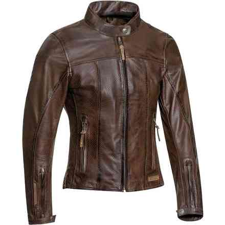 Crank Air Lady Brown Jacket Ixon