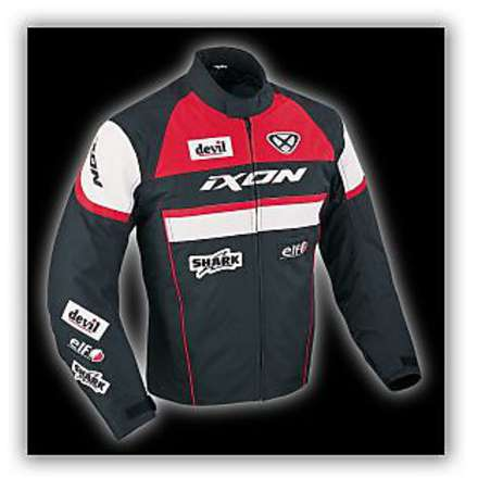 Cronos  Black / Red / White  Jacket Ixon
